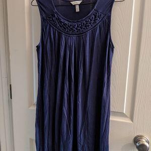 Soma Braided 8 Hem Tank Dress